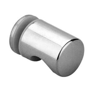 douche deur knop rond enkelzijdig