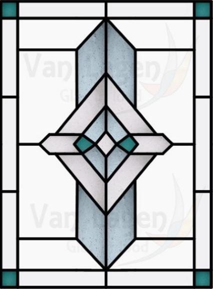 Glas in lood laten ontwerpen