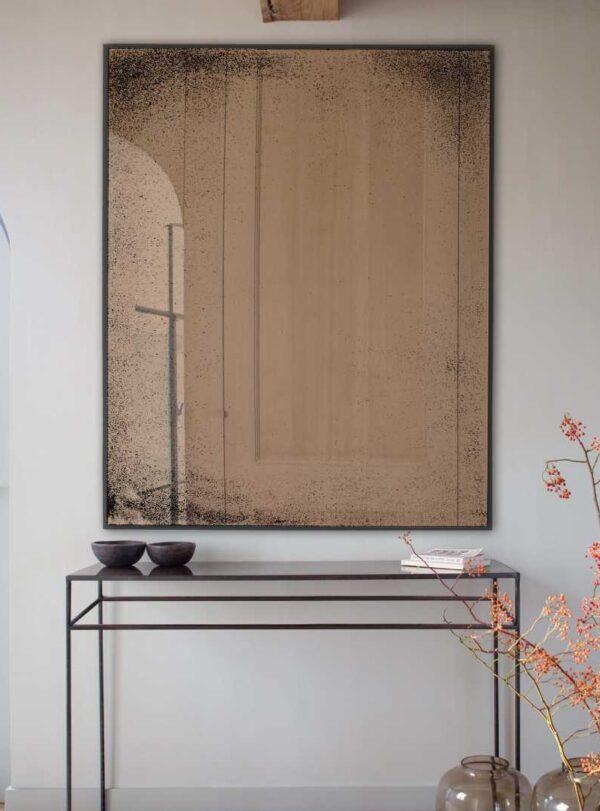 Bronzen spiegel